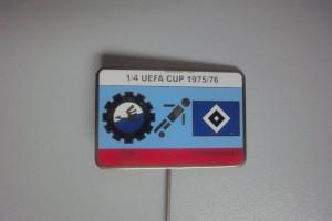 UEFA Cup 1975-1976 Viertelfinale Stal Mielec-HSV
