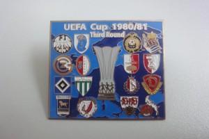 UEFA Cup 1980-1981 3. Runde Begegnungen