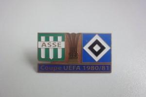 UEFA Cup 1980-1981 AS Saint Etienne-HSV dunkelblau