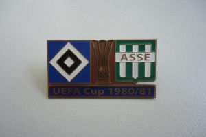 UEFA Cup 1980-1981 HSV-AS Saint Etienne dunkelblau
