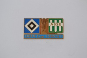 UEFA Cup 1980-1981 HSV-AS Saint Etienne hellblau
