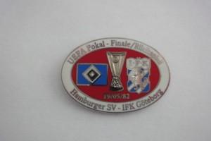 UEFA Cup 1981-1982 HSV-IFK Göteborg
