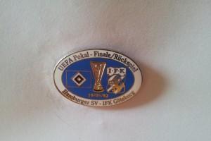 UEFA Cup 1981-1982 HSV-IFK Göteburg