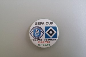 UEFA Cup 2003-2004 1. Runde Dnipropetrovsk - HSV Button