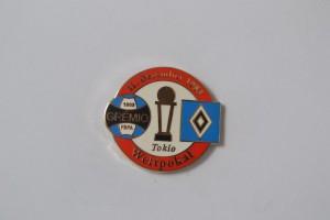 Weltpokal 1983 Gremio Porto Alegre -HSV rot weiß