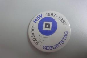 100 Jahre HSV Button