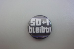 50+1 bleibt Button