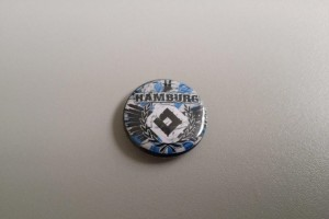 Button Hamburg HSV-Raute