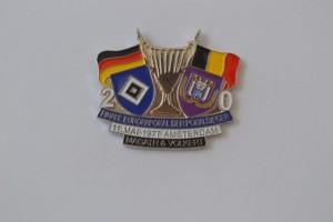 Europapokal 1977 HSV-RSC Anderlecht