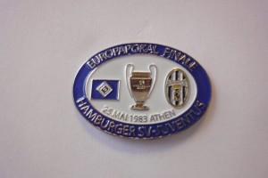 Europapokal 1983 HSV-Juventus Turin