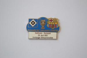 Europapokal der Landesmeister 1960-1961 Halbfinale HSV-FC Barcelona blau