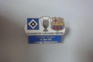 Europapokal der Landesmeister 1960-1961 Halbfinale HSV-FC Barcelona weiß
