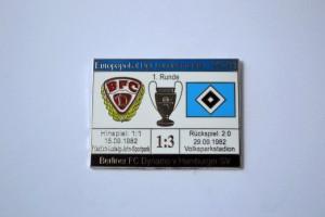 Europapokal der Landesmeister 1982-1983 BFC Dynamo Dresden-HSV