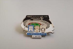 Europapokal der Landesmeister 1982-1983 Finale HSV - Juventus Turin