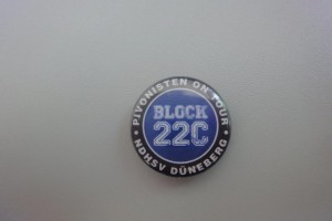 HSV Block 22C Düneberg Button