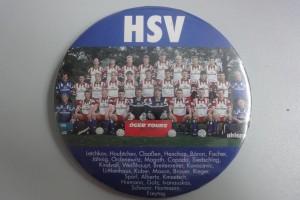 HSV Button - Mannschaftsfoto 1990er Jahre