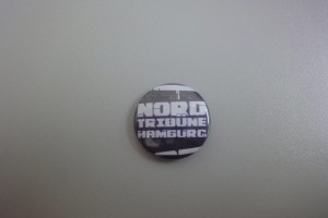 HSV Button - Nordtribüne Hamburg