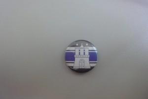 HSV Button Stadtwappen