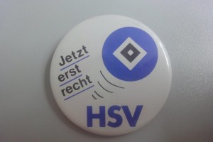 HSV - Jetzt erst recht Button