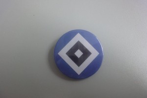 HSV Raute Button