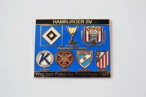 HSV Weg zum Pokal der Pokalsieger 1977
