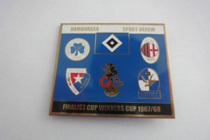 UEFA Cup 1967-1968 Finalist HSV