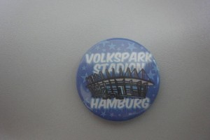 Volksparkstadion Hamburg Button