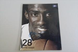 Autogramm Otto Addo