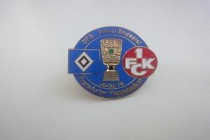 DFB Pokal 1975-1976 HSV-FC Kaiserslautern