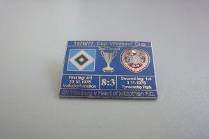 Europapokal 1976-1977 HSV-Midlothian blau
