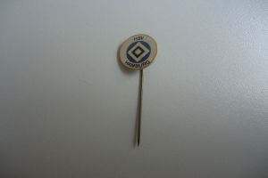 HSV Hamburg Anstecknadel weiß