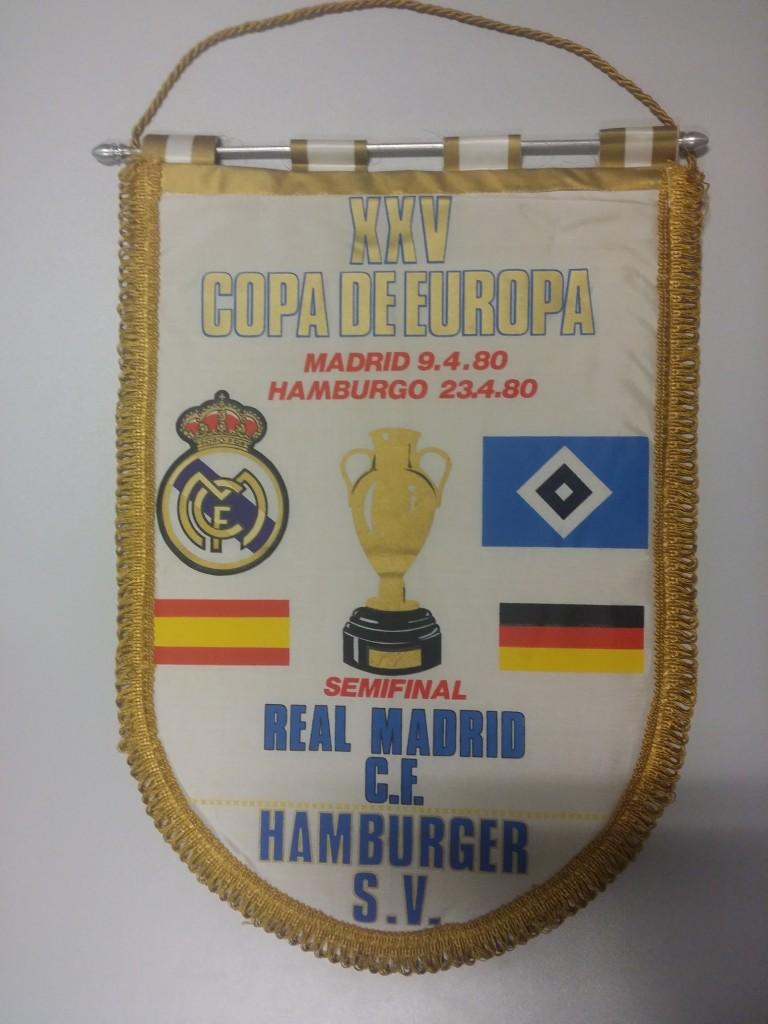 Europapokal der Landesmeister 1979-1980 Real Madrid-HSV