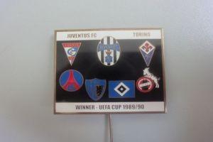 UEFA Cup 1989-1990 Anstecknadel
