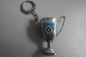 Schlüsselanhänger Champions League-Pokal HSV