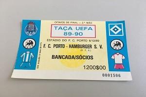 Ticket UEFA Cup FC Porto-HSV