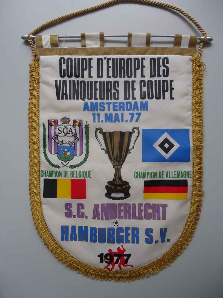 Europapokal Finale 1977 RSC Anderlecht-HSV